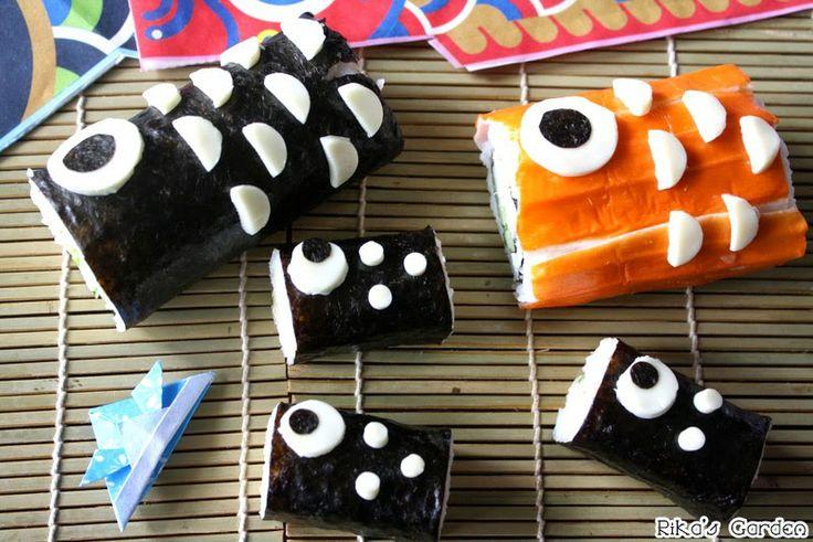 Koinobori Maki sushi♪Kodomo no hi☆彡