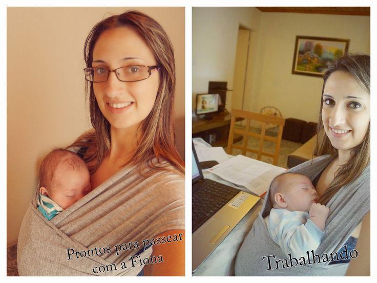 O Wrap Sling  é um tecido que usamos para carregar o bebê através de uma amarração em volta do corpo. E para ser sincera, carregar o bebê...