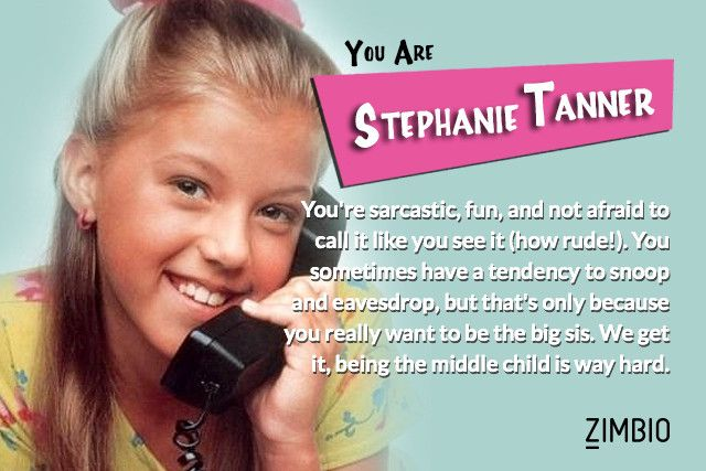 I took Zimbio's 'Full House' quiz and I'm Stephanie Tanner! Who are you?