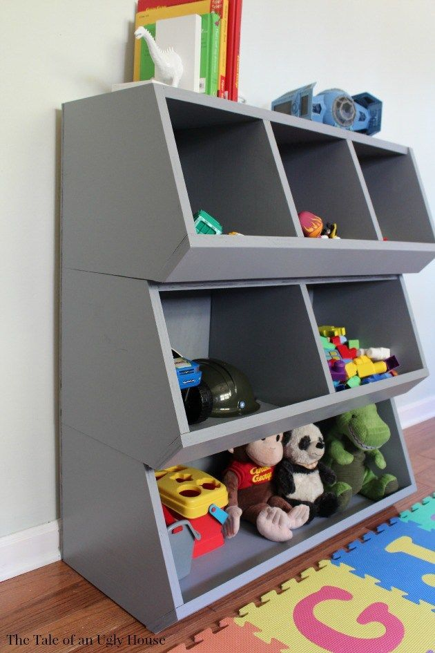 Custom Toy Organizer Sincerely Marie Designs Kids Bedroom Organization Diy Cubbies Storage Kids Toy Organization