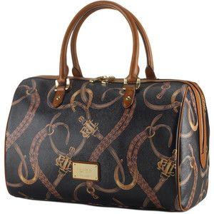 Equestrian Barrel Satchel-Ralph Lauren-----Love this bag!