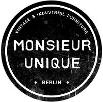MONSIEUR UNIQUE - Vintage Möbel Berlin. Mid Century Design, Industriedesign, Retro Möbel, Industrial Möbel. Hier geht's zum Kontaktformular.