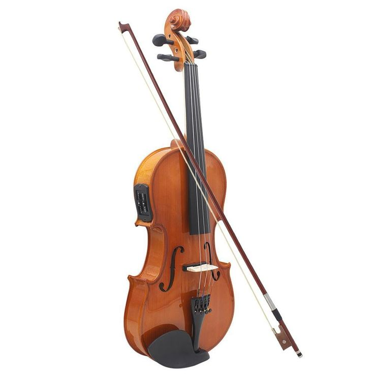 4/4 Full Size Violin Solid Wood Antique Matte Finish