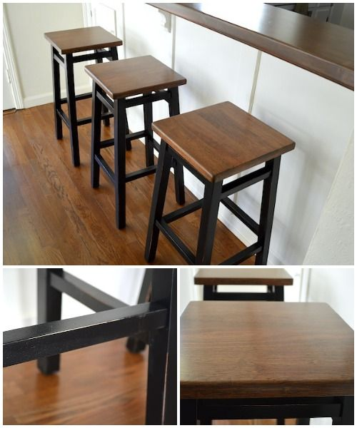 Saddle Seat Bar Stool Makeover