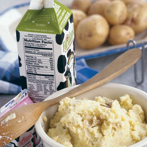 Buttermilk Mashed Potatoes - FineCooking