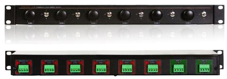 Factor VC-6 Speaker Selector Impedance matching 6 Stereo Zones