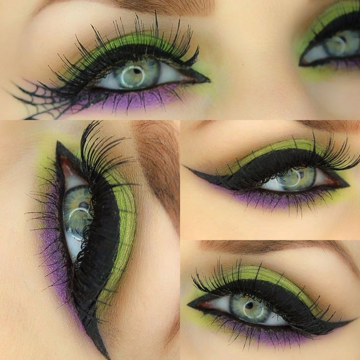 Halloween Witch Inspired eyes by Karla Powell