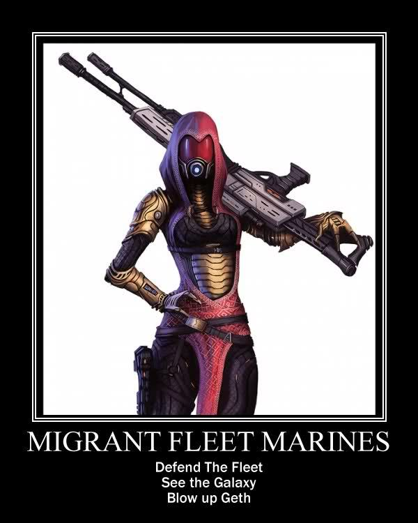Why Can't we play as Quarian Marines online