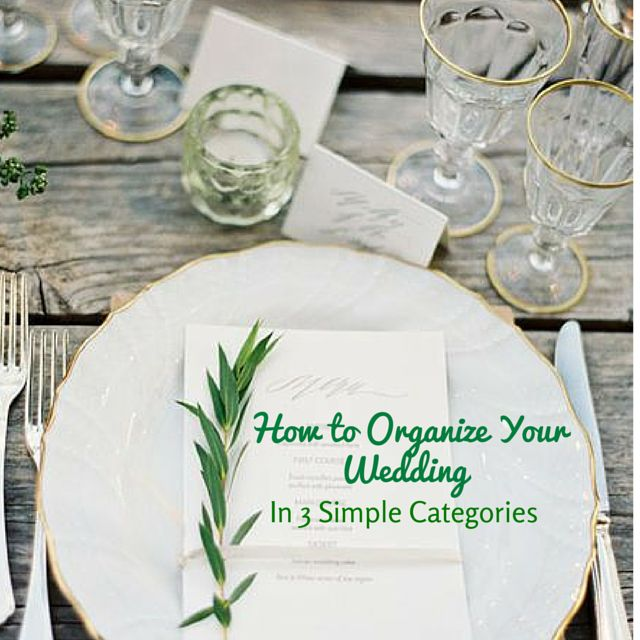 We Know That Planning And Organizing A Wedding Can Be