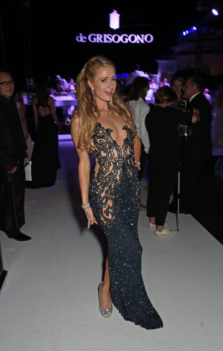 Pin for Later: Retour Sur les Meilleurs Looks du Festival de Cannes 2015 Jour 7 Paris Hilton