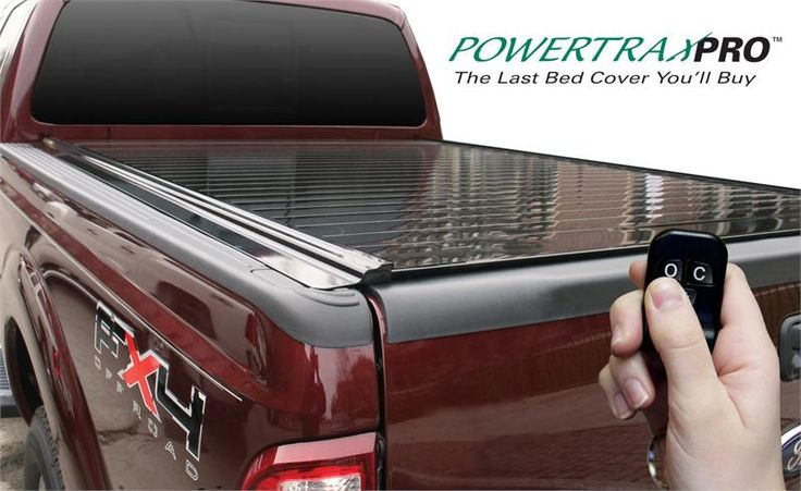 PowerTrax Pro Motorized Tonneau Cover