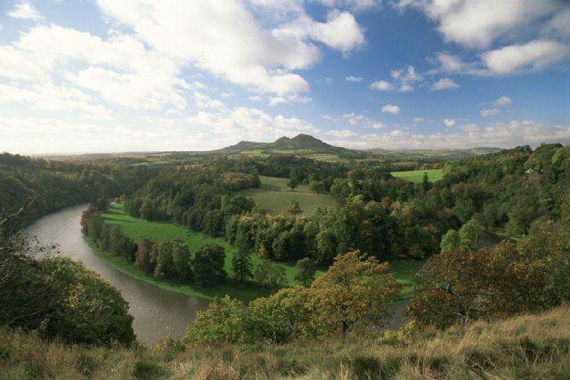 Rivière Tweed, Scottish Borders, Ecosse