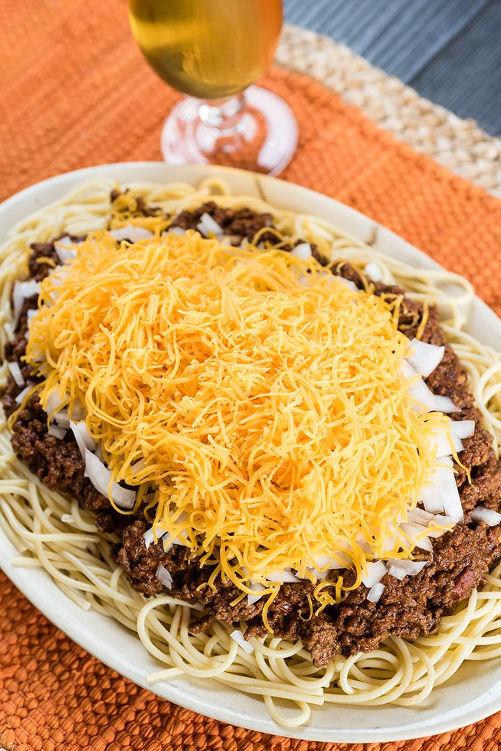 If you've ever had the pleasure of visiting Cincinnati, Ohio, you've probably heard of or visited the famous Skyline Chili restaurant, home of, you guessed it, Skyline Chili. Skyline Chili is the restaurant's signature dish. It's a sweet-ish chili (they keep their recipe a secret) …