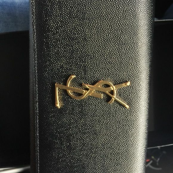 ysl wallet authentic