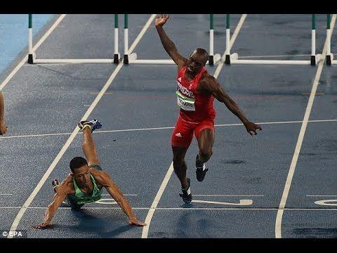 rio 2016 - Joao Vitor De Oliveira qualifies for 110m hurdles semi-finals