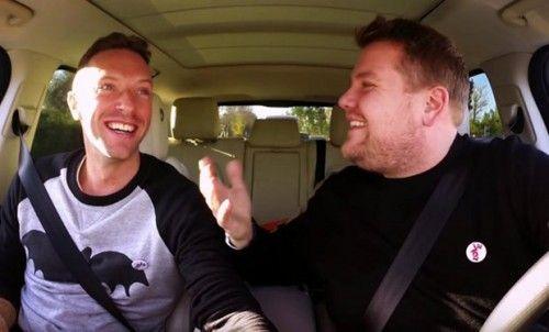 Carpool Karaoke with Chris Martin on Late Late Show (VIDEO) | Gossip & Gab