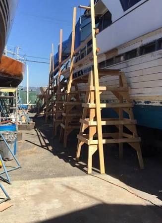 Image Result For Diy Wood Scaffolding Wooden Boat