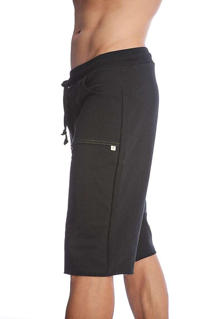 yoga pants for men | Mens Yoga shorts. Organic yoga shorts for men from the Birch Tree