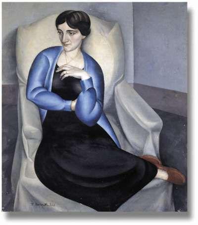 Retrato de Rosa Chacel por Timoteo Pérez Rubio (1925)