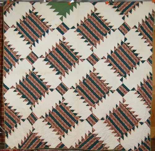 circa1840's Vintage Sawtooth Quilt: Vintage Quilt, Antiques Quilt, Sawtooth Antiques, Piece Quilt, Antiques Piece, Vintage Sawtooth, Sawtooth Quilt, Ahhhh Quilt, Quilt Fabrics
