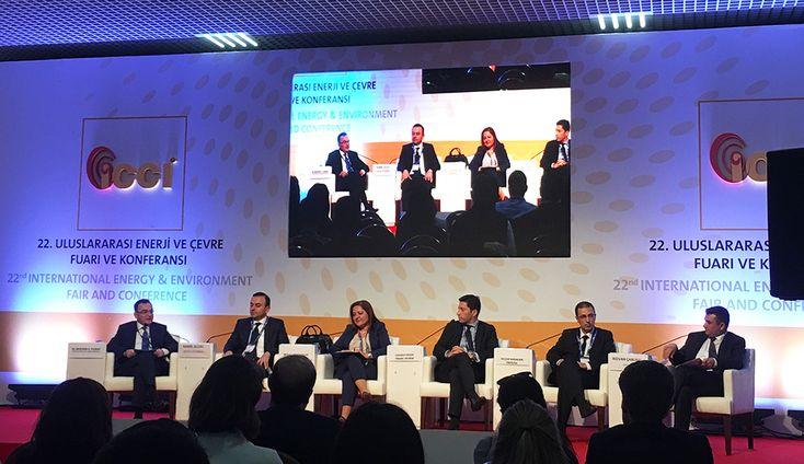 ICCI 2016 - 22. Uluslararası Enerji ve Çevre Fuarı ve Konferansı'nda Borsa İstanbul özel oturumu düzenlendi