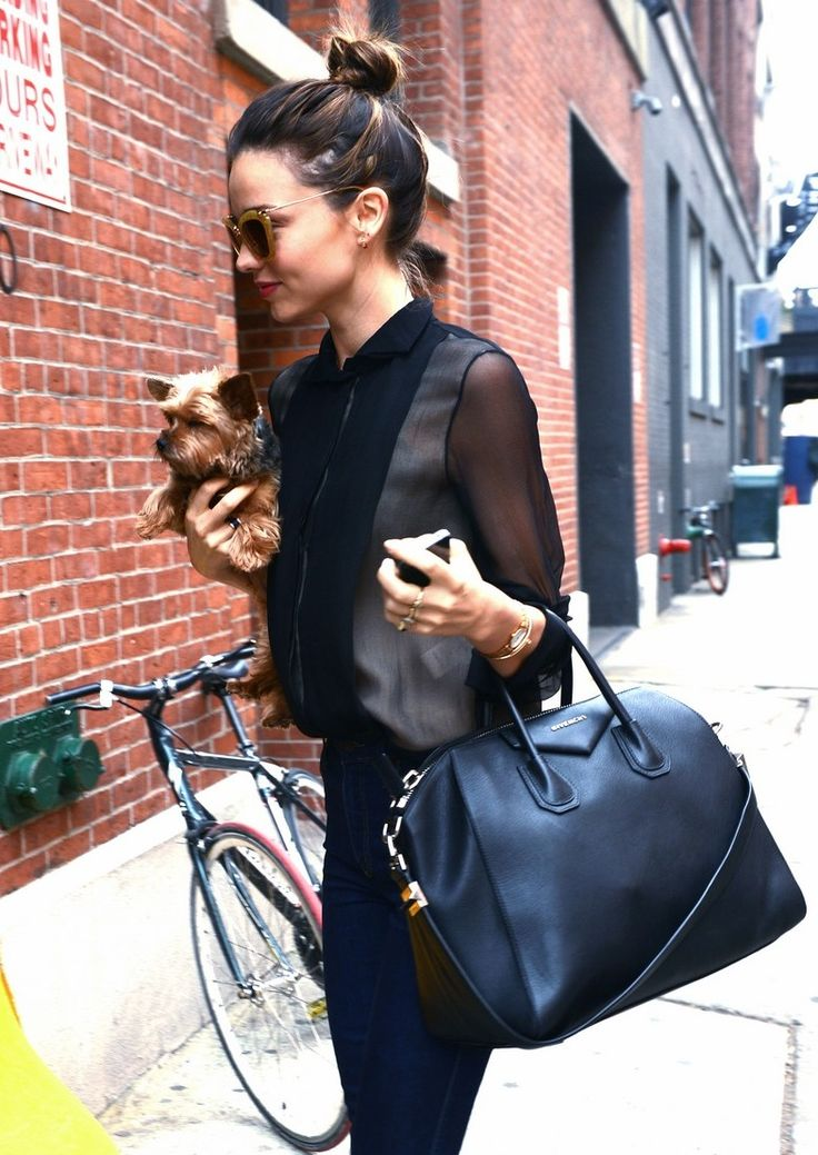 e50c66356f ... Bag Miranda always looking chic... ~ · Miranda Kerr Street StyleMiranda  Kerr FashionMichael Kors ...