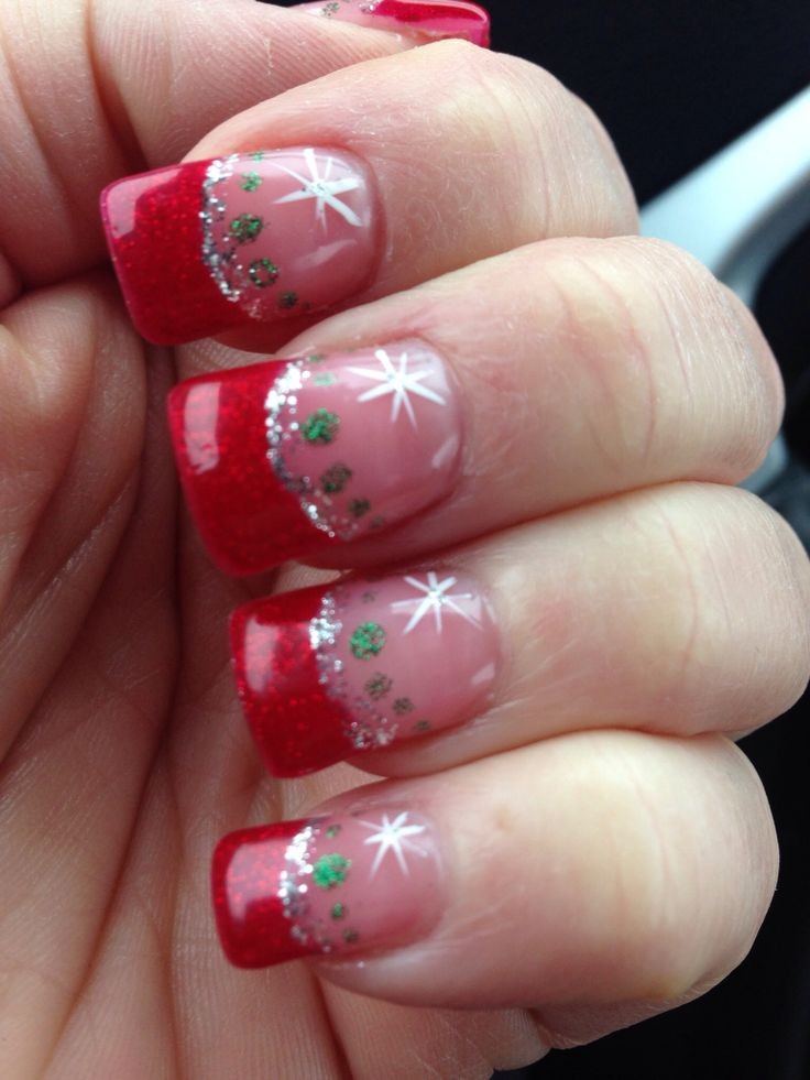 Shellac Christmas Nail Art Ideas The Best Inspiration For Design