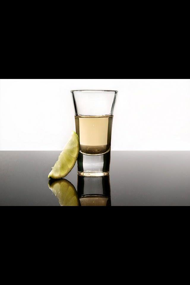 Tequila shot. Parton