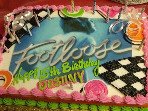 #Footloose cakeJenna 13Th, Sweets Treats, Footloo Cake, Parties Ideas, Footloose Birthday Parties, Footloose Cake, 13Th Birthday