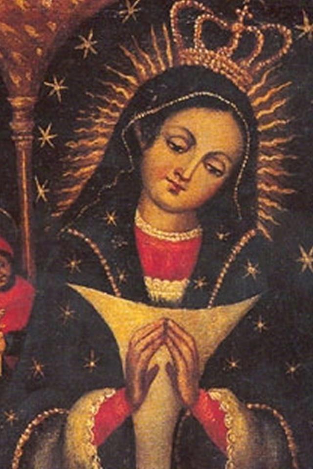 Nuestra patrona, la Virgen de la Altagracia