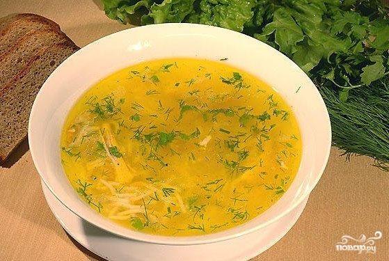 Суп картофельный с пшеном рецепт