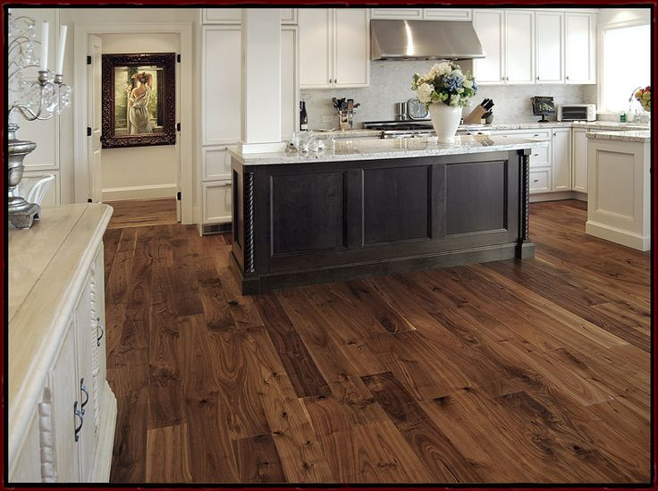 American Black Walnut Wide Plank Flooring available solid or engineered.  Prefinished or unfinished for site sand and finish.  Grades are available in character and select grades as well as long lengths.