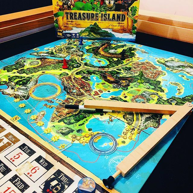 TREASURE ISLAND! New game for Christmas and a quick wizz