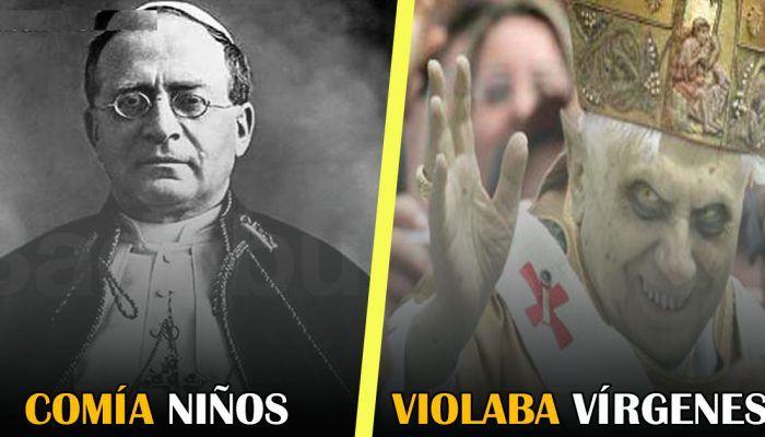 Los 7 peores Papas de la historia. La iglesia siempre ha violado niños