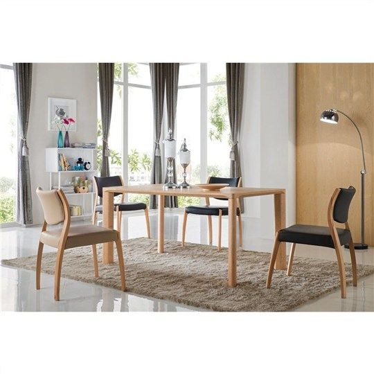 Oakland 150cm Dining Table - Natural Oak Finish (Table Only) - Dining Tables - Dining