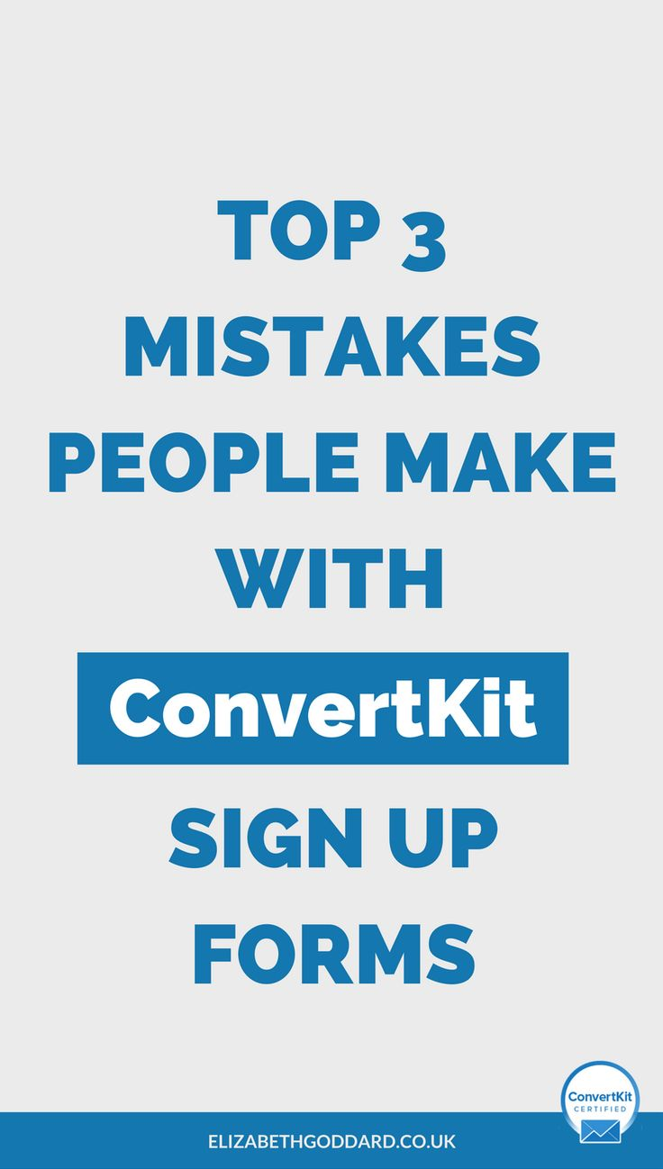 Searching how to use ConvertKit? Find out the top 3 mistakes people make with ConvertKit forms and my solutions to building your email subscribers by preventing misinformation in success message or thank you page, Incentive Email Fails and Using ConvertKit Minimal Form Style. Email marketing tips | Email automation | email autoresponder | sales funnel | grow mailing list.