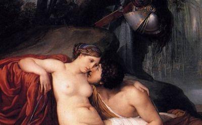 Francesco Hayez, Rinaldo and Armida detail, ca. 1812-13 ______________________________ ♥♥♥ deniseweb.free.fr ♥♥♥