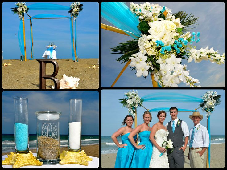 Turquoise And Yellow Wedding Ideas: A-paradise-wedding-turquoise-wedding-beach-wedding-florida