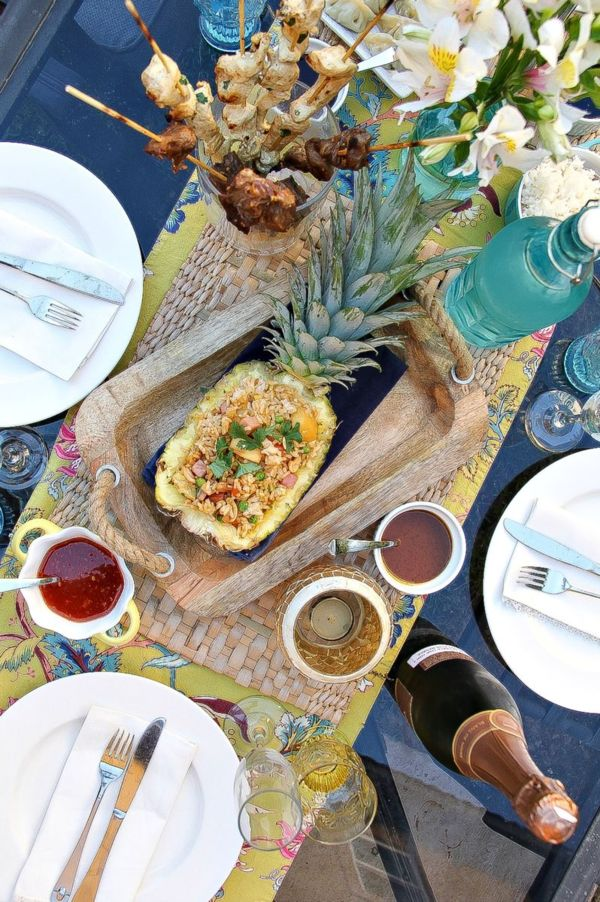 Thai Dinner Party Ideas Part - 18: Al Fresco Dining: Delicious Thai Food Recipes, Sparkling Wine By Gloria  Ferrer And Outdoor