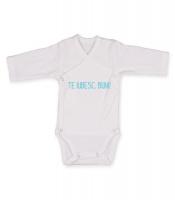 hainute copii | Body-uri | Body model 10 alb cu mesaje simpatice | Hainute nou nascut | Body-uri | Imbracaminte copii | magazin online hainute copii