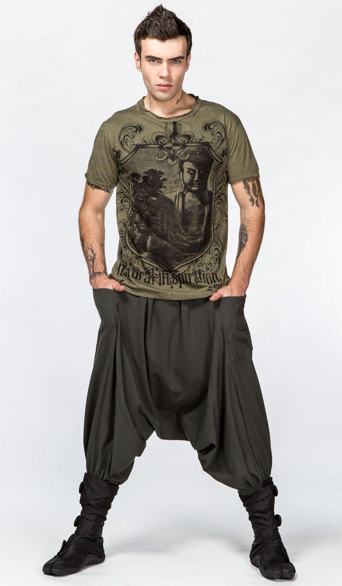 https://indiastyle.ru/men-pants-alladin/product/afgani-zelenye-s-karmanami-3333 Мужские афгани с карманами
