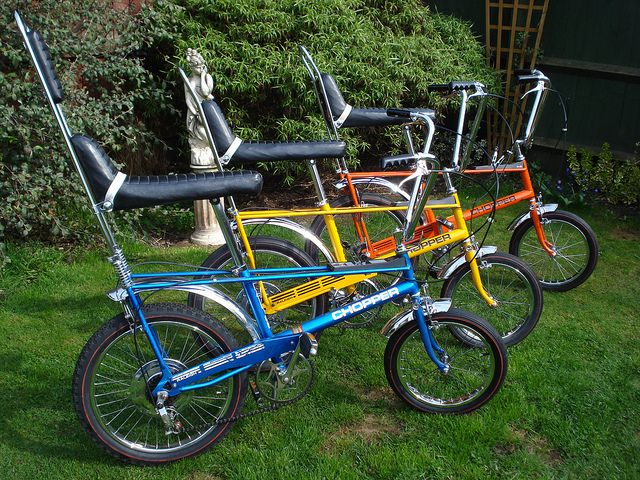 Raleigh choppers in the sun by chopperwazza, #cycling #bicycle #cycle