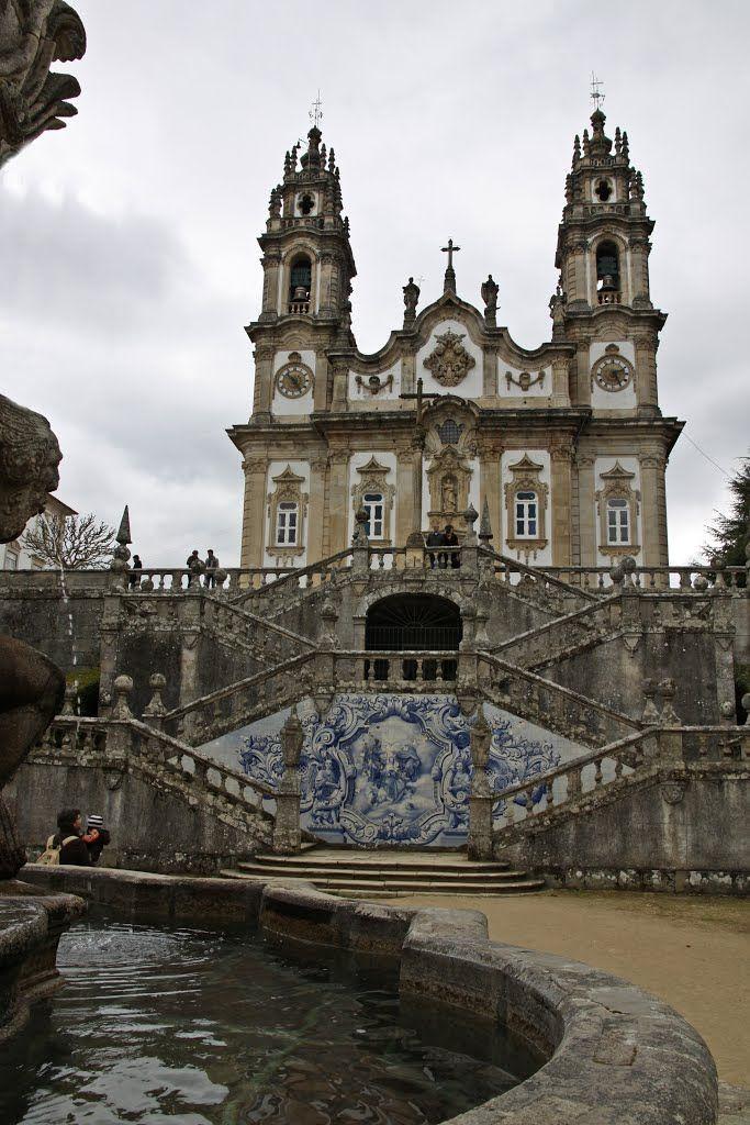Santuário de Nossa Senhora dos Remédios, en Lamego, Portugal