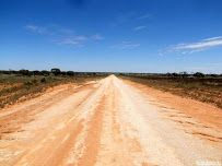 Cobb Highway north of Ivanhoe, New South Wales, Australia