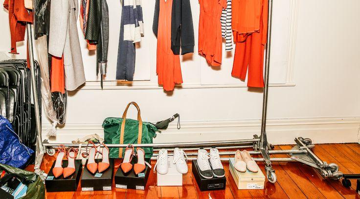 #backstage #fashion Photo by Damien Nikora