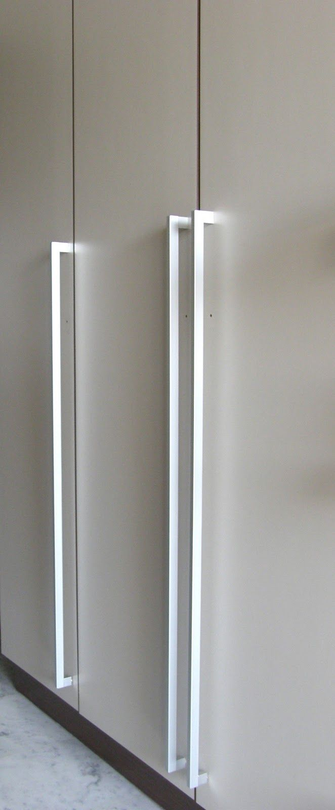 best  wardrobe handles ideas only on pinterest  wardrobe door  - this long handle pull creates a modern touch to any style cabinetry and itoffers elegance in its simplicity suitable for tall doors such aspantries