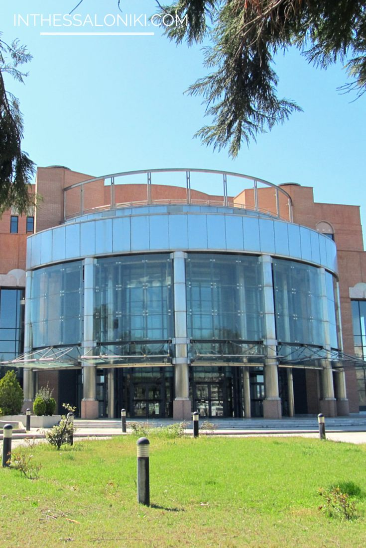 ● The #Thessaloniki Concert Hall ● Μέγαρο Μουσικής Θεσσαλονίκης ●#inthessalonikicom #greece