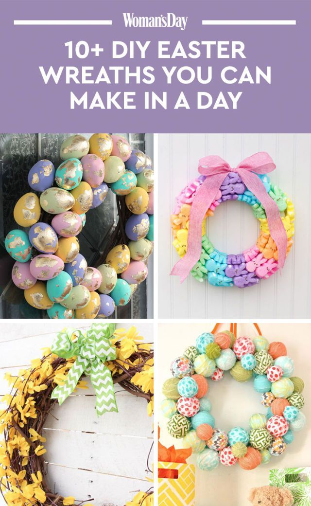 14 Beautiful DIY Easter Wreaths You Can