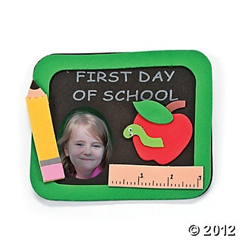 """First Day Of School"" Photo Frame"