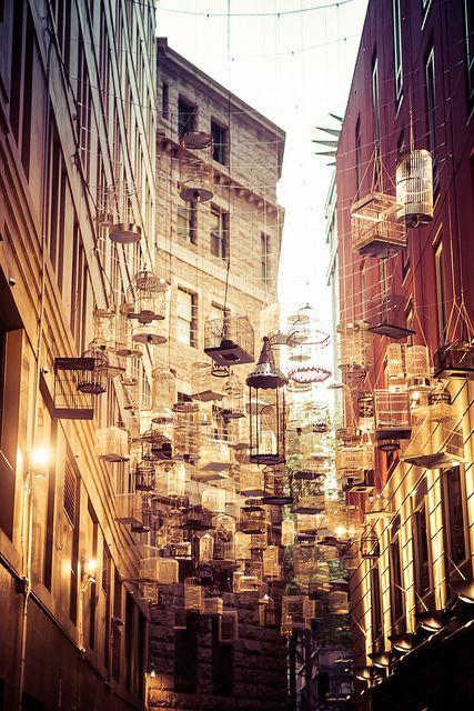 Angel Place Birdcages, Sydney, Australia.http://www.lonelyplanet.com/australia/sydney